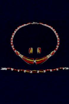 Collier -Set  ESA013-1