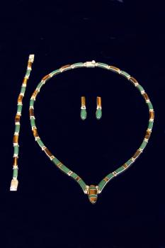 Collier -Set  ESA029-8