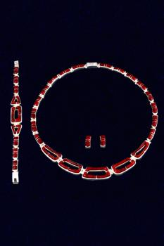 Collier -Set  ESA031-2
