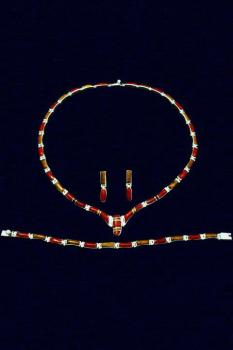 Collier -Set  ESA029-4